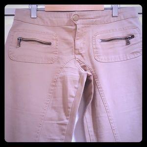Guess Stretchy tan pants